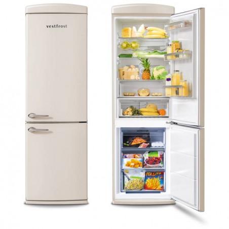 Free-standing Fridge-freezer in beige  VR-FB373-2E0BG
