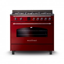 Free-standing Gas and electricity cooker